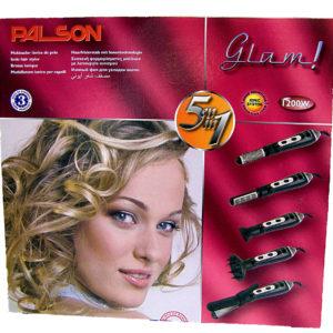 """Топла четка за коса """"GLAM"""" 5 в 1"""